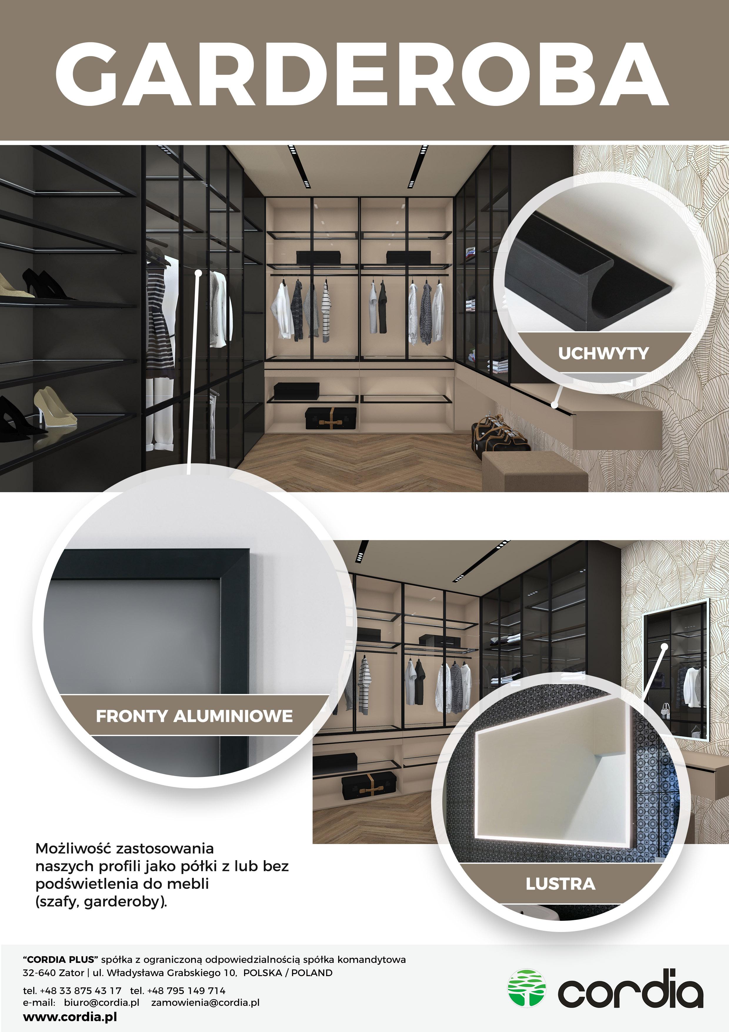 Garderoba Którą Możesz Zaprojektować Sobie Sam Cordia